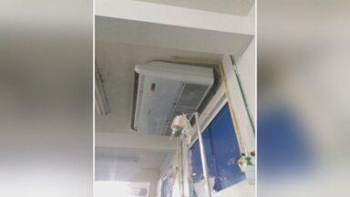 Acompanhante de paciente denuncia falta de refrigeração no Hospital João Paulo - Acompanhante enviou o vídeo da enfermaria do hospital.