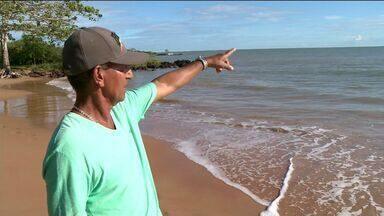 Pescador que ficou perdido no mar no Sul do ES conta o que passou - Ele contou que viveu dias difíceis.