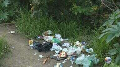 Moradores reclamam de praça abandonada na zona oeste de Ribeirão Preto, SP - Área verde está com mato alto, galhos espalhados e lixo acumulado no Jardim José Sampaio.