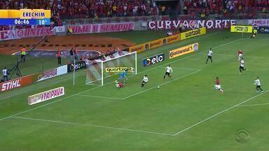 Corinthians sai na frente, mas Inter consegue empate - Veja os gols.