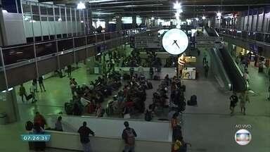 Cerca de 98 mil pessoas devem embarcar na Rodoviária de Belo Horizonte na Semana Santa - Mais de mil ônibus extras foram disponibilizados para atender a demanda.