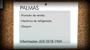 Veja as vagas de emprego para Palmas, Porto Nacional e Gurupi - Veja as vagas de emprego para Palmas, Porto Nacional e Gurupi