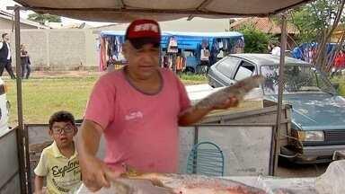 Dia de Feira: confira produtos e receitas para a Semana Santa - Veja como estão os produtos mais consumidos nesta época do ano nas feiras de Campo Grande.
