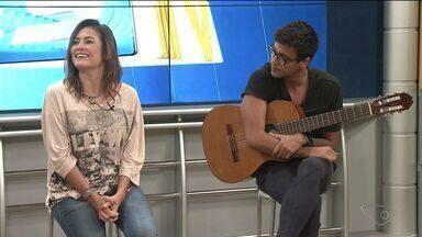 Destaque do programa The Voice Brasil de 2015 realizashow em Linhares, no ES - A cantora Tabatha Fher canta nesta quinta-feira (13) à noite.