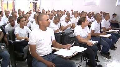 Segurança pública é tema de reunião em Açailândia - Evento contou com a participação do comandante geral da Polícia Militar do estado do Maranhão.