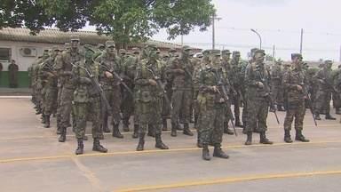 Dia do Exército é comemorado com formatura e entrega de medalhas no Amapá - A cerimônia também prestou homenagem aos que ajudam o exército a desenvolver as suas atividades na região.