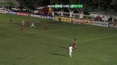 Murici e CRB empatam em jogo pela Segunda Semifinal - Jogo realizado no Estádio José Gomes da Costa terminou 1 a 1.