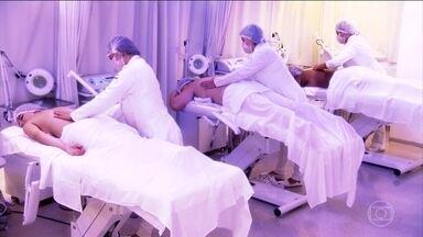 Drenagem linfática pode trazer benefícios para nossa saúde - A técnica é muito usada em tratamentos de beleza.