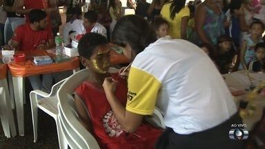 Caravava Digital tira dúvidas sobre o desligamento do sinal analógico em Goiânia - Evento é realizado no Setor Jardim Tiradentes.
