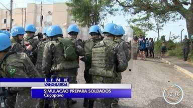 Militares do Exército em Caçapava treinam para missão de paz no Haiti - Será a última tropa brasileira a atuar na missão.