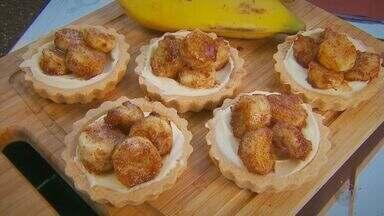 Fernando Kassab ensina uma deliciosa receita de tortinha de banana - Fernando Kassab ensina uma deliciosa receita de tortinha de banana