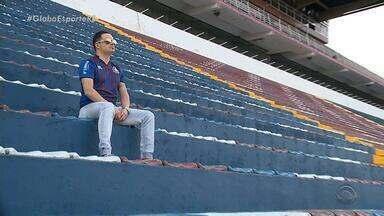 Presidente do Caxias reconstrói imagem do clube e espera chegar à final do Gauchão - Mandatário é arquiteto e mantém uma banda como hobbie.