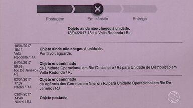 Moradores reclamam do atraso nas entregas do Correios em Volta Redonda, RJ - Muita gente não está recebendo as mercadorias nos prazos.