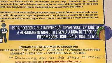 Entenda como você pode receber a indenização do Dpvat quando ocorre um acidente - Indenizações chegam a R$ 13,5 mil, dependendo da gravidade