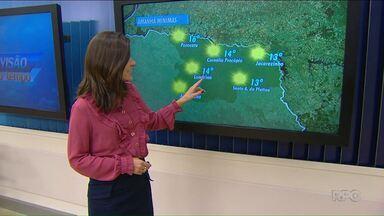 Vai esfriar na região norte do Paraná - A mínima amanhã é de 14 graus em Londrina.
