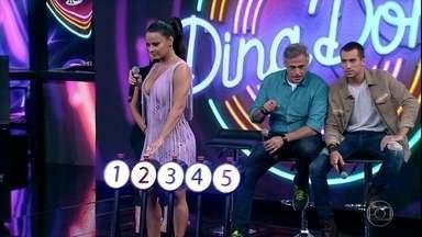 Viviane AraújoeAntonia Morais acertam a primeira música do 'Ding Dong' - Dupla não tem dúvida e acerta o hit de Simone & Simaria