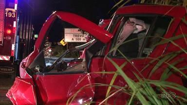 Dois jovens morreram em acidentes nas rodovias do sudoeste neste feriado de Tiradentes - Os dois acidentes foram no domingo à noite.