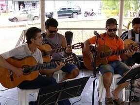 Dia Nacional do Choro foi comemorado no último domingo(23) em Montes Claros - Apresentações aconteceram na Praça da Matriz, no Centro da cidade.