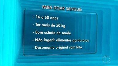 Unidade móvel do hemocentro irá percorrer pontos de Campos e São João da Barra, no RJ - Assista a seguir.