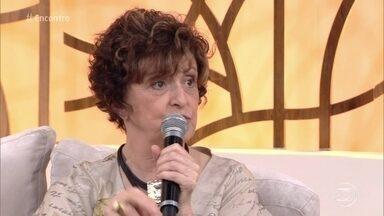 Ana Lucia Torre estrela peça sobre amor na terceira idade - 'Num Lago Dourado' mostra que o amor persiste mesmo entre os idosos