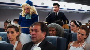 Brasil a Bordo - Episódio 2, na íntegra - A Piorá Linhas Aéreas faz uma promoção para 20 casais. A promessa é realizar suas bodas em um voo para Maceió.