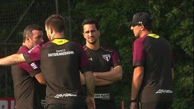 São Paulo segue aproveitando período de treinos antes do jogo contra o Defensa y Justicia - São Paulo segue aproveitando período de treinos antes do jogo contra o Defensa y Justicia