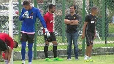 Ronaldo Alves preocupa o Sport para duelo decisivo contra o Santa - Ronaldo Alves preocupa o Sport para duelo decisivo contra o Santa