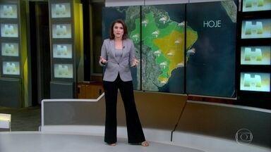 Rio de Janeiro registra a manhã mais fria do ano - Embora tenha bastante nuvem no Sudeste, não há previsão de chuva.