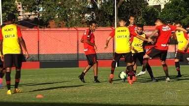 Atlético-GO treina de olho no duelo contra o Fla pela Copa do Brasil - Dragão volta a campo no dia 10 para enfrentar o clube carioca