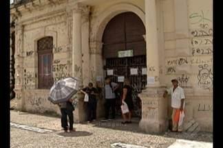 """Local para emissão de """"Passe Fácil"""" está fechado por tempo indeterminado - Local fica no bairro de São Brás, em Belém."""