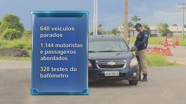 Nenhum acidente fatal é registrado nas rodovias federais do Amapá - Durante ação do feriadão, condutores de veículos foram conscientizados sobre perigos em estradas.