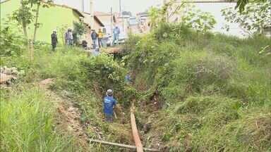 Veja cuidados tomados na mina João Paulo, em Pouso Alegre, após reclamação dos moradores - Veja cuidados tomados na mina João Paulo, em Pouso Alegre, após reclamação dos moradores