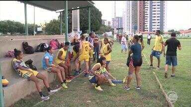 Tigresas se preparam para estrear no Brasileirão Série B, mas elenco está incompleto - Tigresas se preparam para estrear no Brasileirão Série B, mas elenco está incompleto