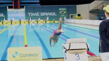 Nadadores de Santos se destacam no Troféu Maria Lenk - Competição é realizada no Rio de Janeiro.