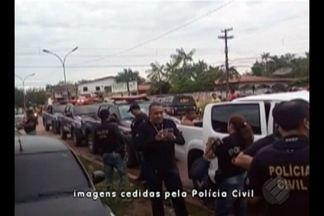Polícia cumpre 40 mandados de prisão em Igarapé-Miri, no Pará - Polícia cumpre 40 mandados de prisão em Igarapé-Miri, no Pará