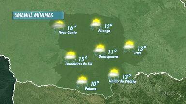 Chuva deve continuar nesta sexta-feira na região - Já para o fim de semana, tem previsão de sol