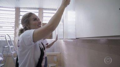 Angélica ajuda a reformar uma escola na Zona Leste de São Paulo - O projeto Amor e Cor ajuda a revitalizar espaços