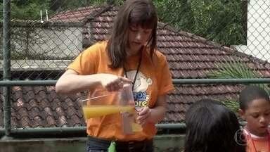 Alice Wegmann participa do Sonhar Acordado - O projeto tem o objetivo de oferecer um dia educativo e divertido para crianças carentes