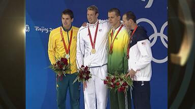 Pequim 2008 - finais de natação e bronze de Cielo