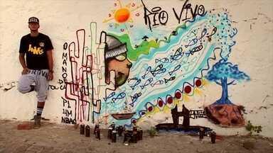 Vozes do Velho Chico: Euri - Artista faz homenagem ao Nordeste através do rap e do grafite
