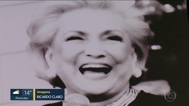 Biografia de Hebe Camargo é lançada em SP - Memórias da apresentadora viraram livro.