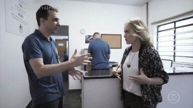 """Angélica conhece os """"Hospitalhaços"""" - Apresentadora visita um hospital em Campinas - SP que desenvolve o trabalho voluntário"""