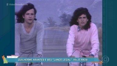 Há 35 anos Guilherme Arantes lançava o clipe da música 'Lance Legal' - Totia Meirelles foi a musa do vídeo!! Relembre