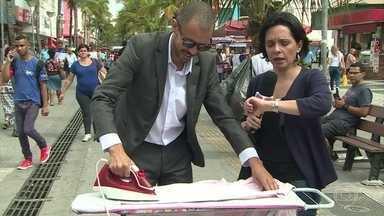 'Mais Você' desafia o público a passar roupas - Ana Maria Braga dá dicas para não sentir dores durante a tarefa