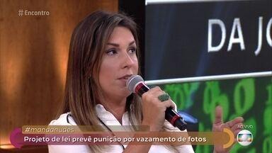 Projeto de lei prevê punição por vazamento de fotos - Delegada Daniela Terra explica que compartilhar 'nudes' de crianças e adolescentes é crime