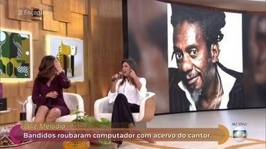 Luiz Melodia tem o computador roubado e perde acervo de 40 anos de carreira - Segundo Jane Reis, a mulher do cantor, o artista perdeu fotos e novas composições