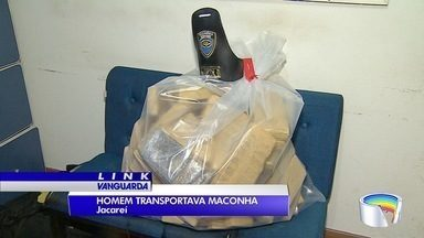 Polícia apreende 49 quilos de drogas na Geraldo Scavone - Um homem foi preso.