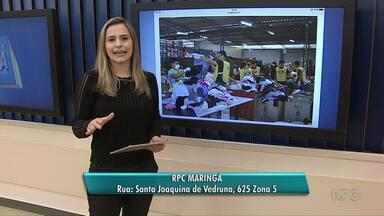 Campanha do Agasalho vai até o dia 11 de agosto - RPC Maringá é um dos postos de arrecadação