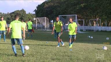 Sampaio se prepara para encarar o CSA, na Série C - Tricolor deve encarar os alagoanos com novidade no time titular