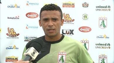 Sousa aposta em artilheiro musical para surpreender adversários na Série D - Vice-artilheiro do Campeonato Paraibano, Izaías é o trunfo do Dinossauro para a estreia contra o Central de Caruaru